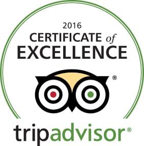 TripAdvisor Logo 2016 Excellence